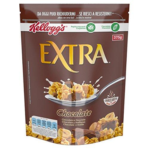 Kellogg's Extra Chocolate belga y Avellanas Granolas- 375 g