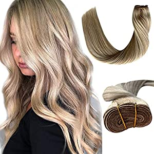 Beauty Shopping Ubetta Human Hair Bundle Straight Sew in Brazilian Weft Hair Extensions for Women
