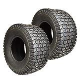 2PK 20X10.00-8 Turf 20X10-8 20x10x8 20x10.00x8 4 PLY Rated Lawn Mower Tires Compatible with Scag, Toro, Wright, Kubota, Craftsman MTD, Cub Cadet