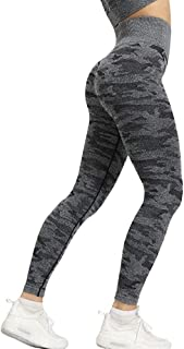 OneChange Camouflage Yoga Workout Clothes Suit Sportswear Female Gym Yoga Booty Leggings + Viper Sports Bra Sports Suit 2P...