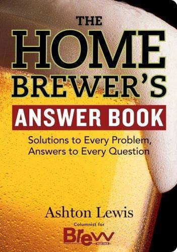 The Homebrewer's Quantity limited Answer Book Ashton Lewis Topics on TV