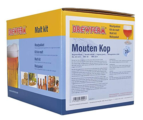 Kit de cerveza India Pale Ale en grano - 20 litros