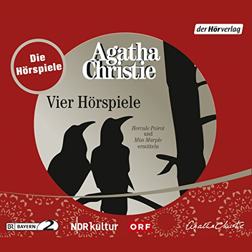 Agatha Christie - Vier Hörspiele audiobook cover art