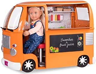 Our Generation Doll Food Truck Deluxe Accessory Set