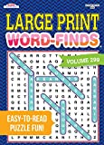 Large Print Word-Finds Puzzle Book-Word Search Volume 299