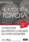 Le modèle Toyota.