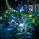 ソーラー·デコレーション MIYOLE ガーデンライト ソーラーライト パスライト ソーラー充電 芝生ランプ 2本セット 花火ライト 防水 センサーライト 庭園ライト 埋め込み式 ガーデン 庭 芝生 公園に適応 飾りライトマルチカラー