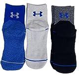 Boys Under Armour 3-Pack HeatGear Crew Socks (4Y-8Y/YLG)