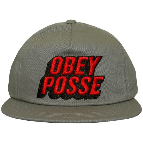 Obey - Casquette Snapback Homme Posted - Elephant