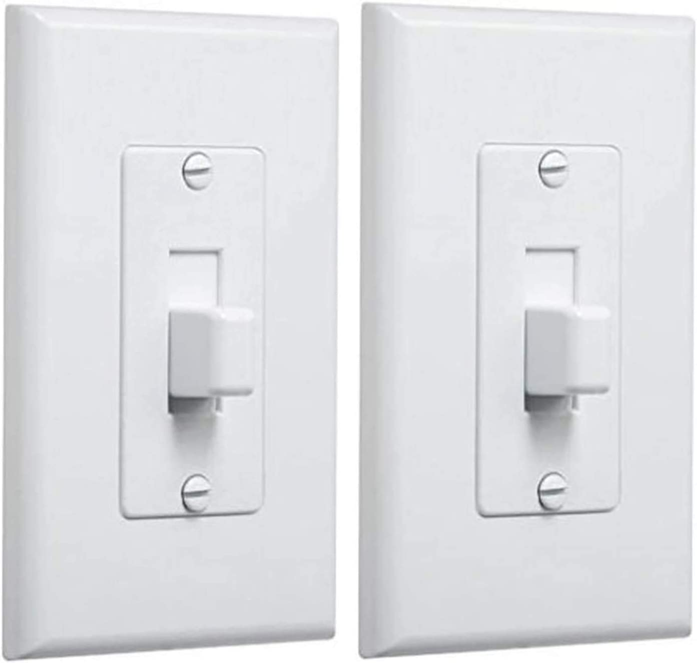 Taymac 2570w Decorator Wall Plate For Toggle Switch White