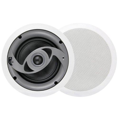MTX CT625C 6-1/2' 2-Way In-Ceiling Speaker - Pair (White)
