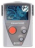 Bruni Schutzfolie kompatibel mit Swissphone BOSS 935 Folie, glasklare Bildschirmschutzfolie (2X)