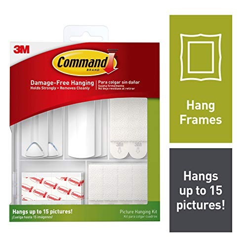 Command Picture Hanging Kit, Indoor Use (17213-ES)