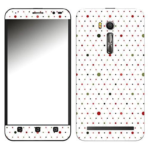 Disagu SF-107220_1178 Design Folie für Asus ZenFone Go TV (ZB551KL) - Motiv Bunte Punkte 05
