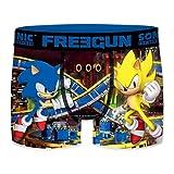 FREEGUN Talla S: Boxer Sonic The Hedgehog, Unitario T213-1, Hombre