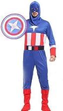 KRAZY TOYS Disfraz Capitan America Adulto (L)