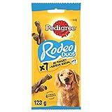 PEDIGREE Rodeo Duos Récompenses au poulet et saveur bacon pour chien, lot de 10 sachets...