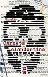Carnets clandestins par Giacobone