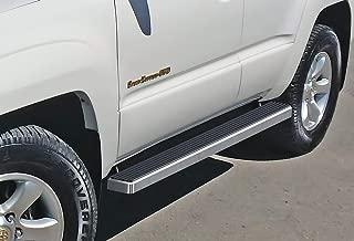 APS iBoard Running Boards 4 inches Custom Fit 2003-2009 Toyota 4Runner Sport Utility 4-Door (Nerf Bars Side Steps Side Bars)