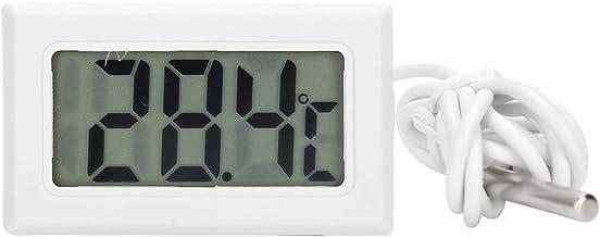 Cikonielf Termómetro Sensor de medidor de Temperatura Digital portátil de plástico con Mini medidor de sonda Termómetro de Colmena