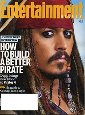 Entertainment Weekly May 13 2011 Johnny Depp/Pirates of the Caribbean 4 on Cover, Depp Interview, Kristen Wiig & Maya Rudolph/Bridesmaids Q&A, Oprah Winfrey Behind the Scenes