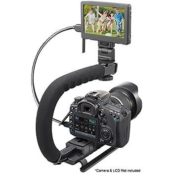 Vertical Shoe Mount Stabilizer Handle Canon PowerShot SD550 Digital IXUS 750//IXY Digital 700 Pro Video Stabilizing Handle Grip for