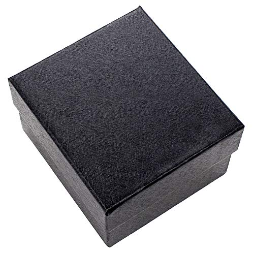 dontdo Quadratische Uhrenvitrine für Schmuck, Armband, Geschenk, Aufbewahrungsbox aus Papier mit Deckel 1#