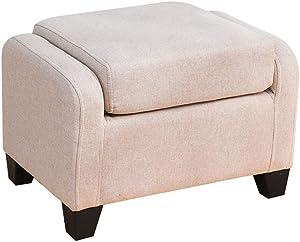 NA Durable Single Upholstered Kids Mini Sofa and Chair,Upholstered Sofa Stool, Footstool