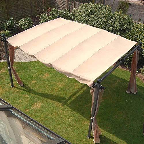 Ersatzdach für Pavillon Markise ca. 3x4 m Passend für Pavillon Avantos