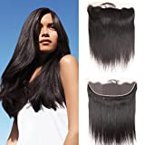 Dai Weier Straight Brazilian Hair Lace Frontal Human Hair Ear To Ear 4x13 Closure Pre Plucked Next Day Delivery 14 Inches