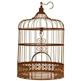 Santex 3871-41, hucha jaula de metal, color óxido