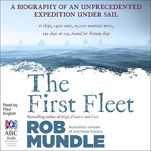 The First Fleet audiobook cover art