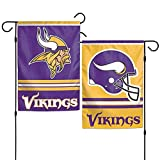 "WinCraft NFL Minnesota Vikings WCR08373013 Garden Flag, 11"" x 15"""