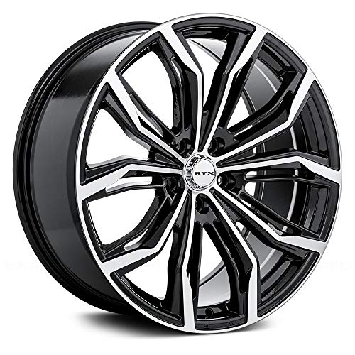 RTX Black Widow, 17X7.5, 5X114.3, 42P, 73.1, Black MACHINED 081925