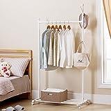 Tendedero percha de dormitorio simple colgador de suspensión individual - bar - estilo de casa - balcón estilo perchero tendedero ( Color : A )