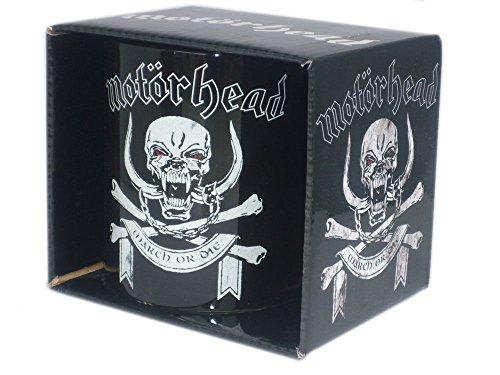 Motörhead - Rock Band Cup Cadeaumok - March or Die - geweldig verpakt in een geschenkdoos