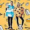 EraSpooky Costume da Unisex Latte e Biscotto Vestito Operato Festa di Halloween Vestito Divertente per Uomo Adulto Coppia Donna #5