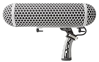 Marantz ZP-1 Professional Blimp-Style Microphone Windscreen and Shockmount with Synthetic Fur Slip-On Cover, Adjustable Internal Microphone Suspension System, Twist-on Endcaps (B01N3PFEMB) | Amazon price tracker / tracking, Amazon price history charts, Amazon price watches, Amazon price drop alerts