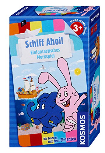 KOSMOS Spiele 711399 - Schiff Ahoi - Die Sendung mit dem Elefanten
