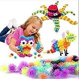 Chocozone 300pcs Magic Balls Puff Balls Building Block Toys for 5 Years Old