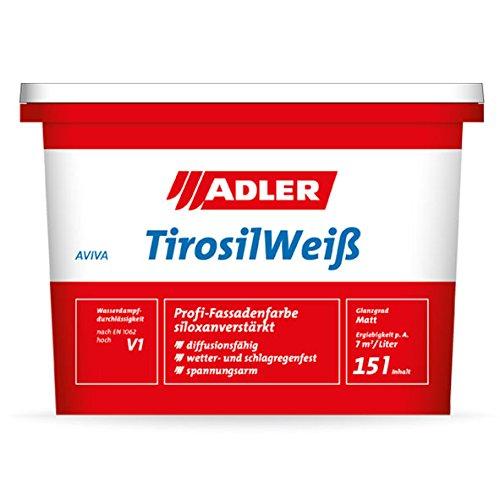 ADLER Aviva Tirosil-Weiß Fassadenfarbe 9l