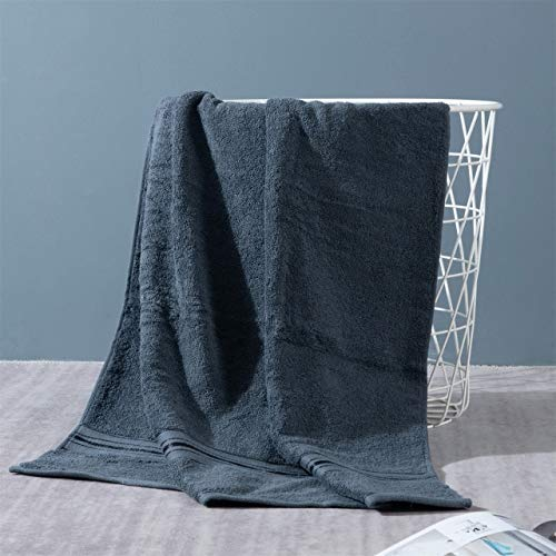 IAMZHL Juegos de Toallas de baño de algodón Toallas de baño absorbentes para Adultos Color sólido Toalla de Ducha de Mano Suave y Agradable para el baño-a26-1 PCS 34x74 cm