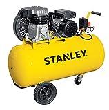 Compresor con aceite Transmisión a correa monostadio 100L 2HP Stanley B 251e/9/100