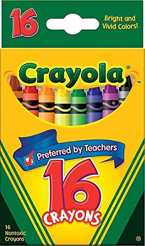 Crayola 52-3016 Original Crayons 16 Count