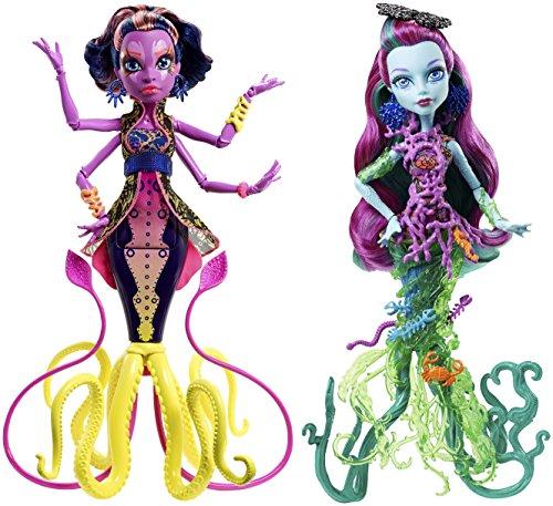 Mattel DHB50 - Monster High Große Schreckensriff-Schülerinnen Puppe, Konstruktionsspielzeug