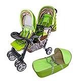 Passeggino fratelli o gemellare giardino Top Design - BambinoWorld