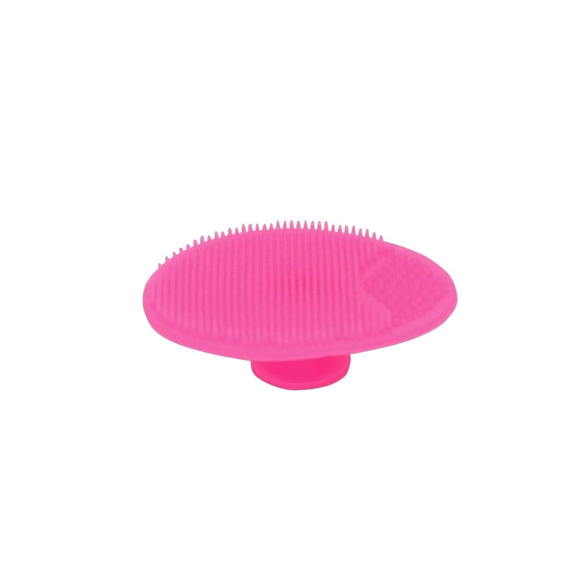 五十骨ホイッスルべビー用ボディブラシ ヘアブラシ シリコン製 小さいサイズ シャワーブラシ 赤ちゃん用ブラシ 成人用洗顔ブラシ 2点セット