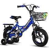 JG Bicicleta para niños, plegable para niños de 2 a 12 años, 4 colores (color: C, tamaño: 12 pulgadas)