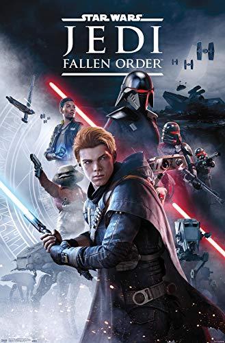 Trends International Star Wars: Jedi Fallen Order - Key Art Wall Poster,...