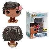 Funko–Figura Disney Vaiana/Moana–Young Moana, muñeca Moana sentada, Pop 10cm, ref. 0889698114912